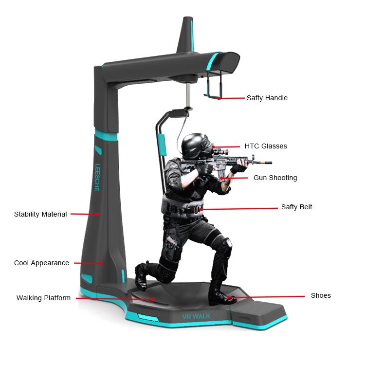 walking simulator degree park race kat walk vr manufacture