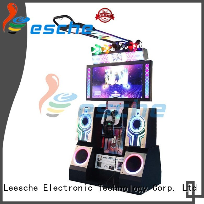 Leesche Brand tt fighting dance dance revolution arcade machine htc supplier
