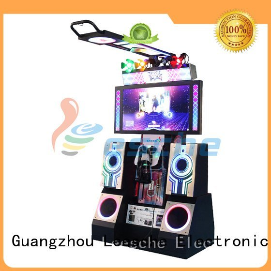 Hot dance dance revolution arcade machine dancing coin arcade Leesche Brand