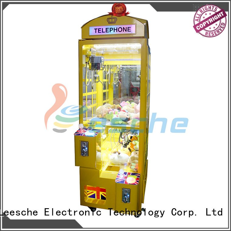 Leesche toy bill acceptor claw arcade game master