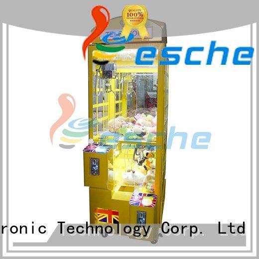 claw arcade game plush Leesche Brand the claw machine