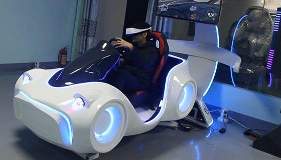 VR racing car