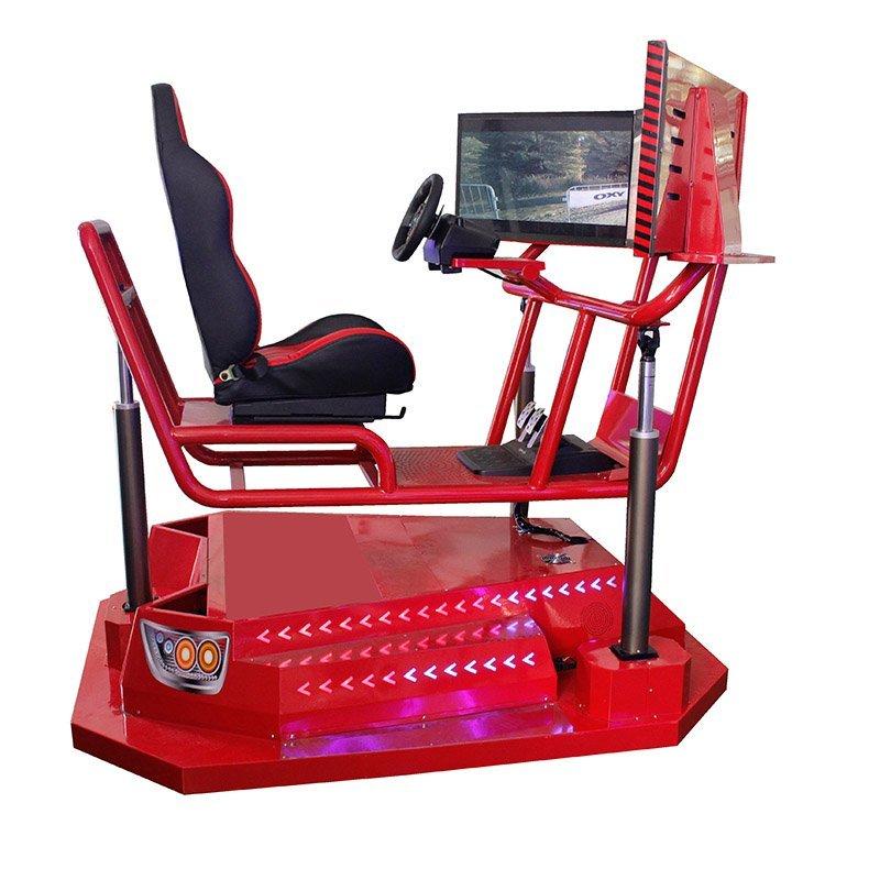 1 seat 3 screens 3 dof simulator racing car
