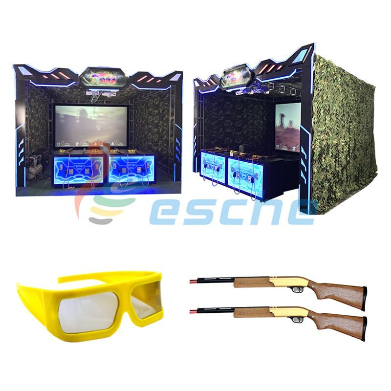 Arcade game machine 3D Hunting hero shooting gun simulator