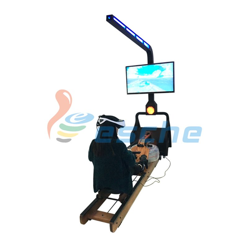 Gym fitness surfing water rowing simulator dynamic 9D vr rowing