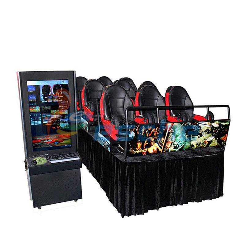 mobile truck motion 9 seats 9d vr 12d cinema simulator