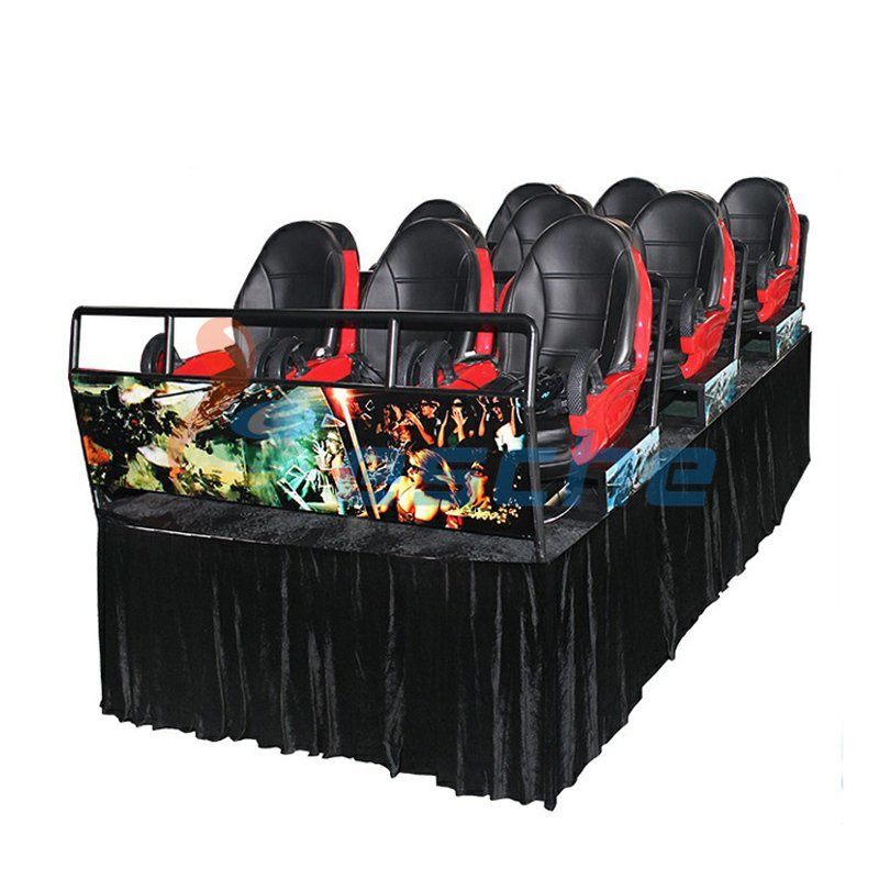 mobile truck motion 9 seats 9d vr 12d cinema simulator