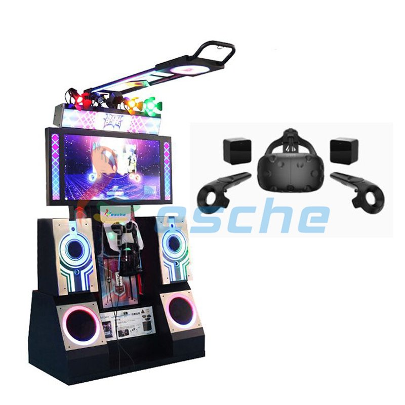 Newest coin operated 9D VR dance arcade dancing machine