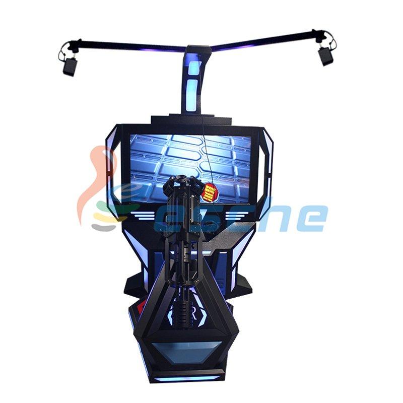 Leesche VR Shooting Game Machine HTC VIVE 9D VR Gatling Simulator VR Gun/Fighting image20