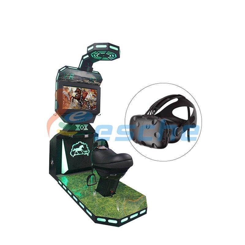 9d vr shooting game machine HTC vive horse riding simulator