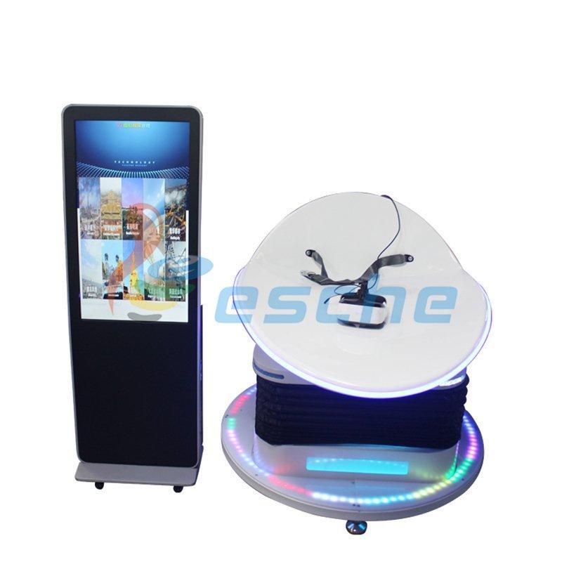 360 Degree View 9D VR Games Simulator VR Slide