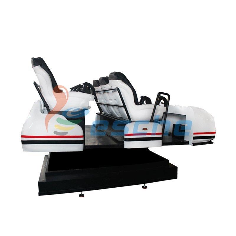 Newest 6 seats 360 degree 9d vr simulator 12d cinema