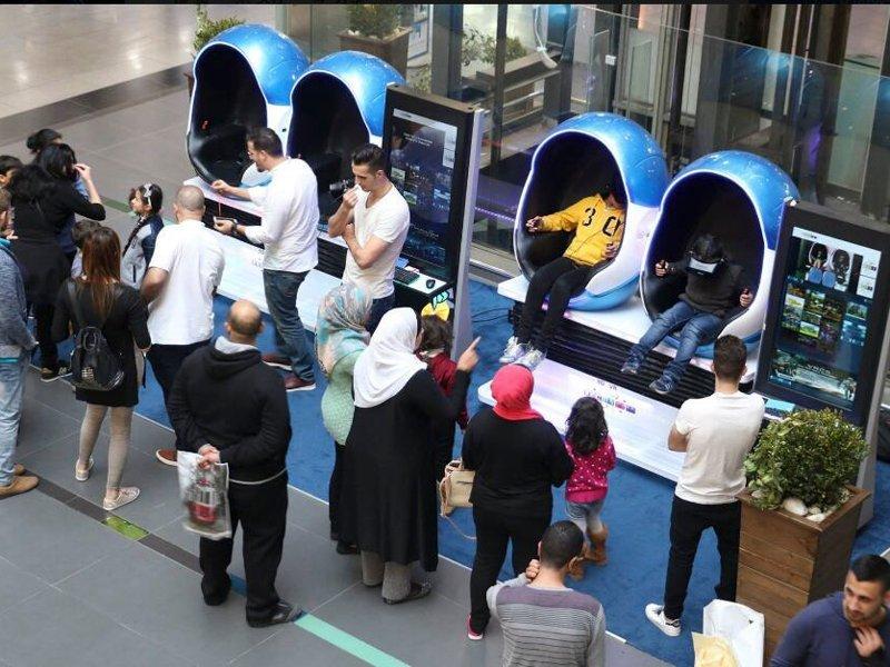 The VR egg zone from Jordan