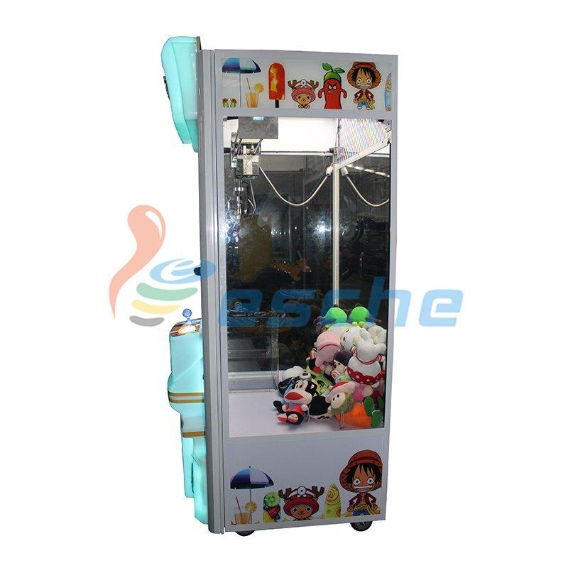 Attractive plush toys amusement claw crane vending machines for sale