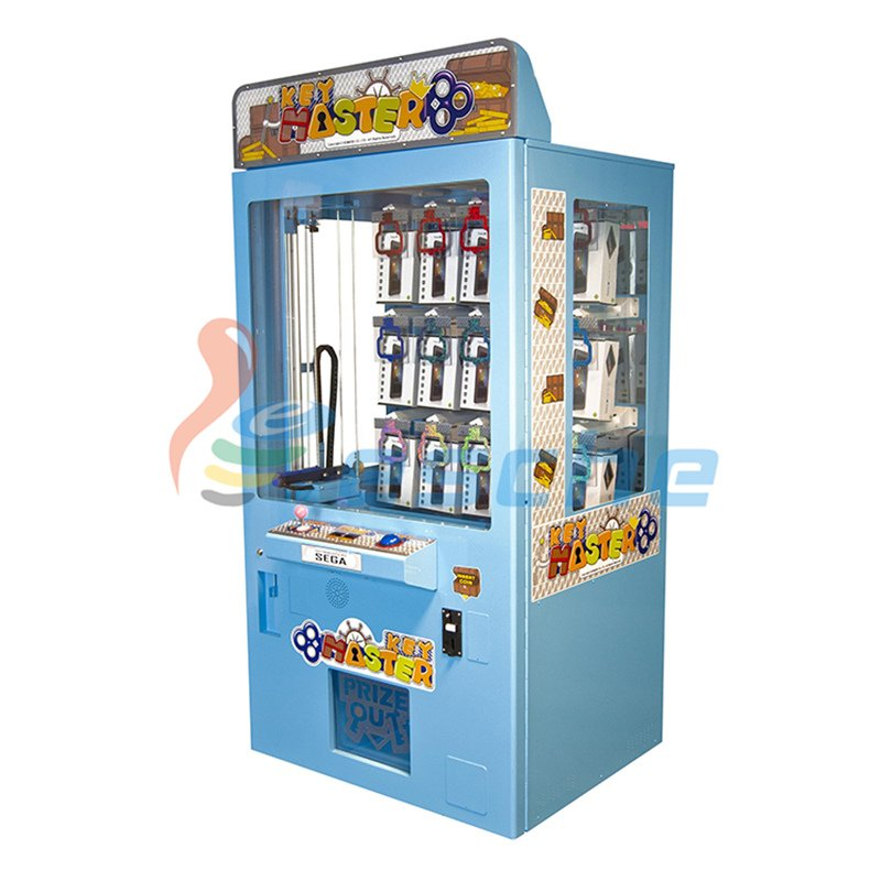 best price bill acceptor coin operated key master game machine