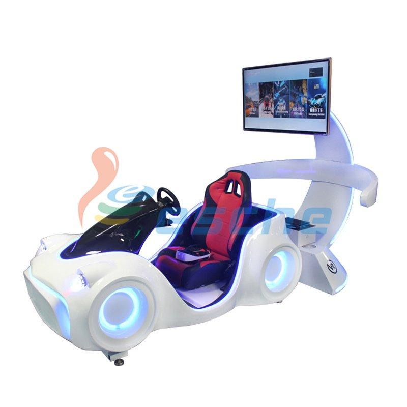 New arrival dynamic platform 9d vr racing car driving simulator