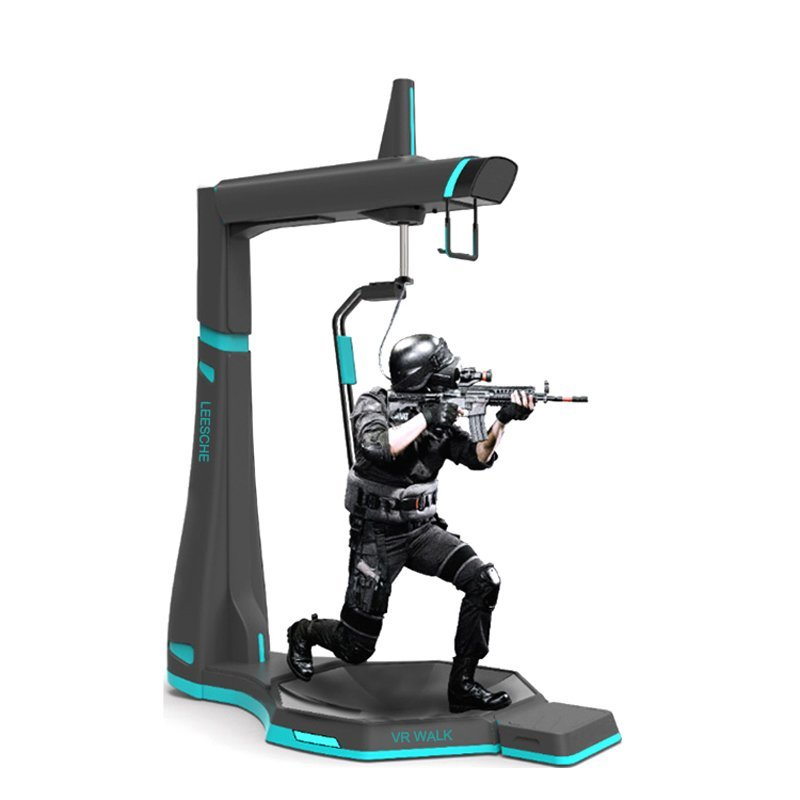 Exciting 360 standing platform 9d vr shooting equipment vr walker