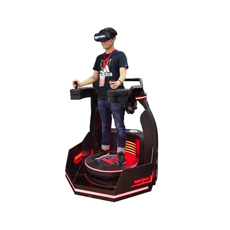 amusement park machine 9d vr standing platform vr battle