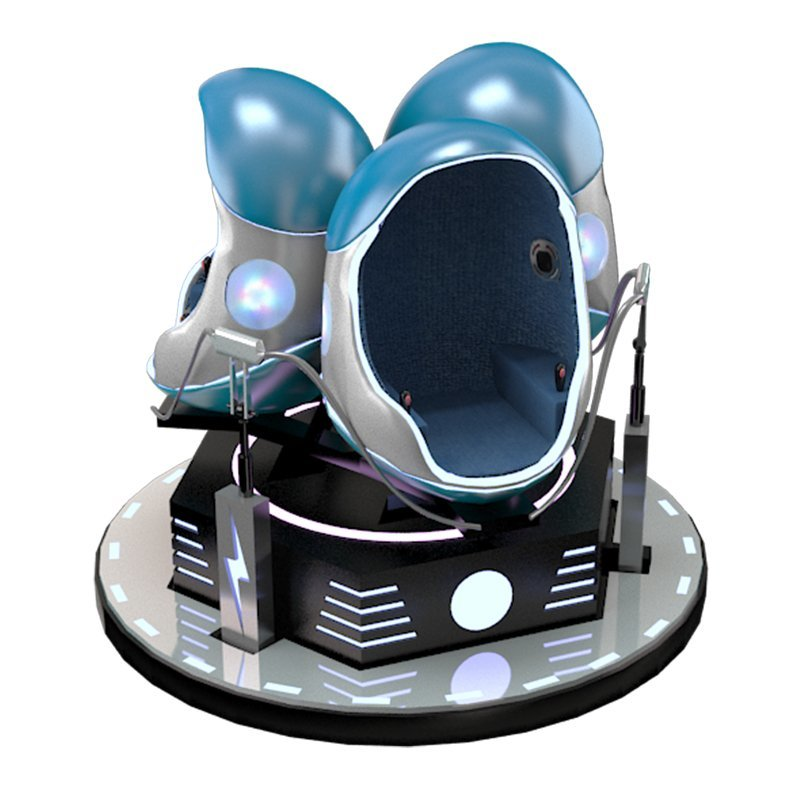immersive sense movies 3 seats 9d vr egg chair
