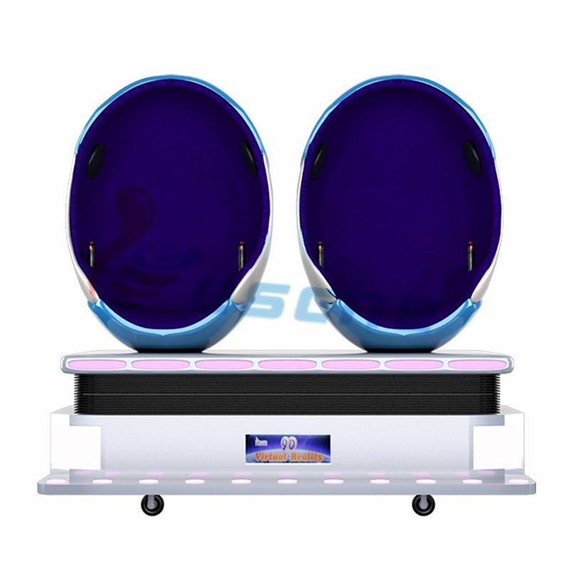 popular 9d vr movies 2 seats egg virtual reality equipment