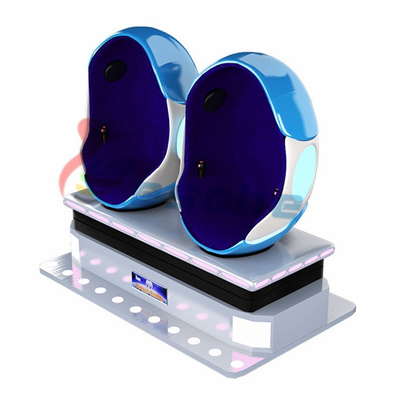 popular 9d vr movies 2 seats egg virtual reality equipment