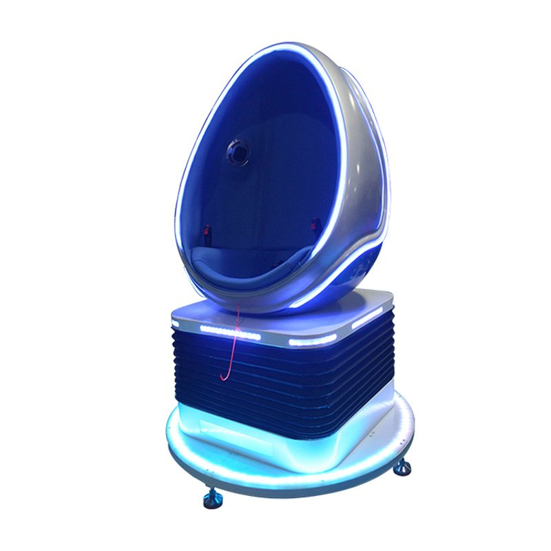 Interactive Game Simulator 360 Degree 9D Vr egg chair