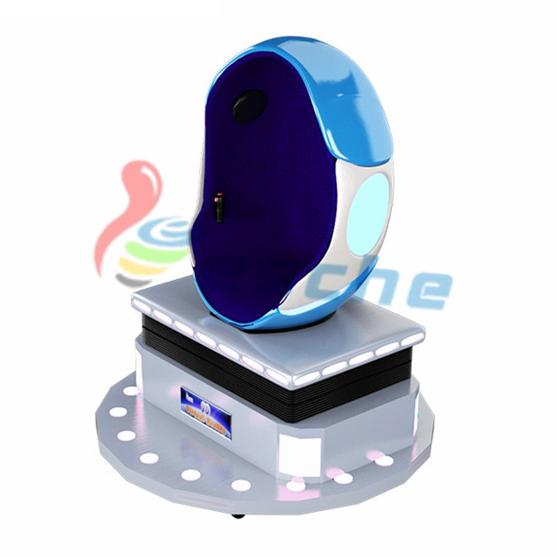Interactive 360 degree 1 seat 9d vr egg chair
