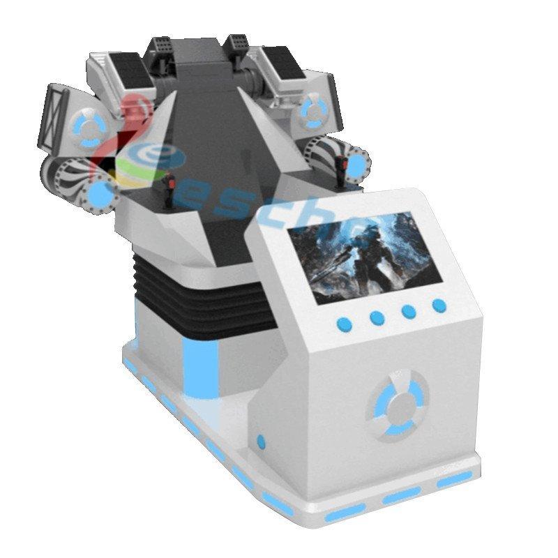 Leesche Leesche 360 degree interactive shooting simulator 9d vr VR Walker/battle image25