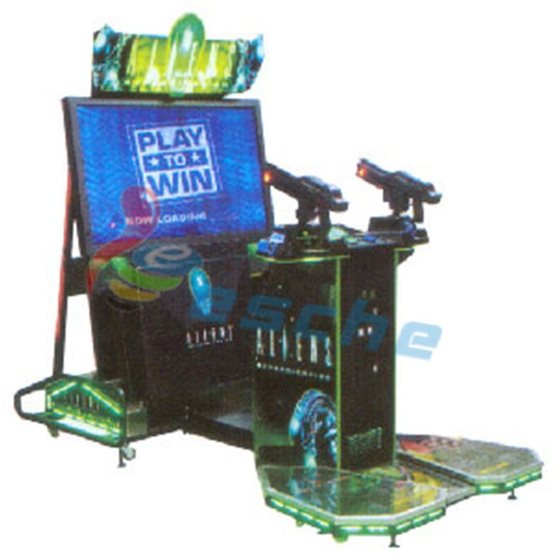 Luxurious Aliens Paradise Lost 55 LCD shooting game machine