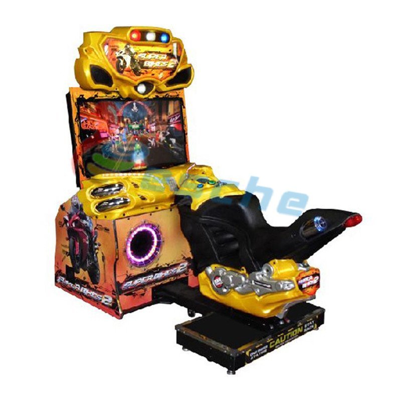 Super Bikes II 42 inch LCD racing video game machine