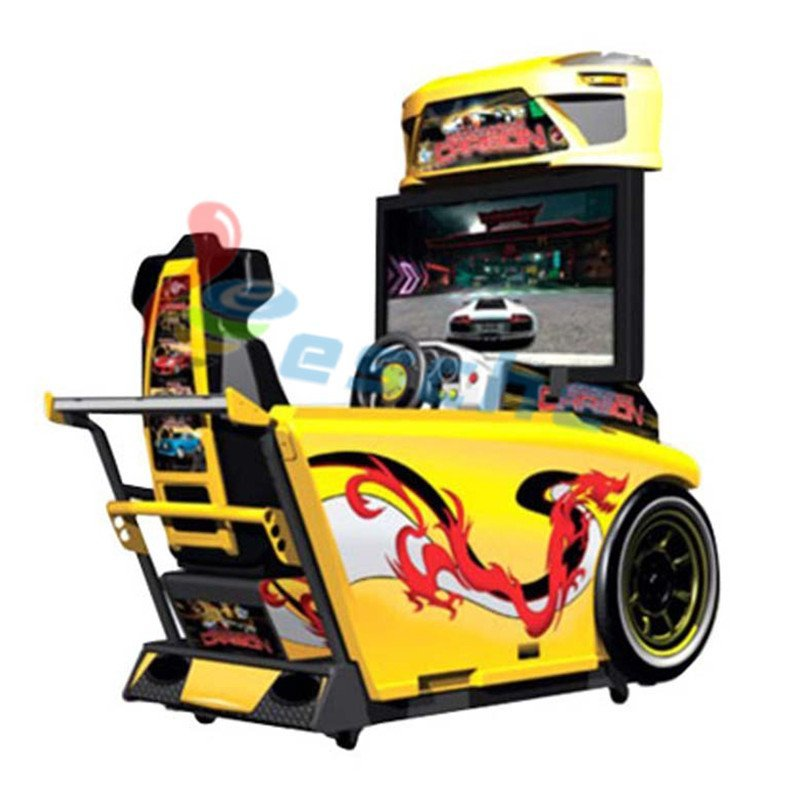 42 inch LCD racing simulator game machine