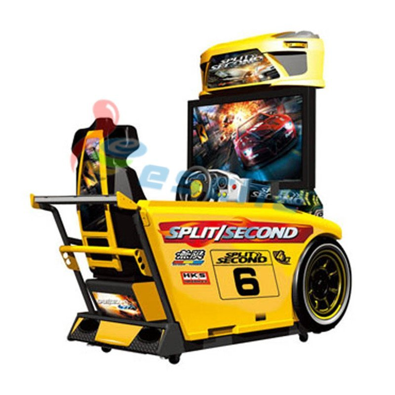 42 inch LCD Split Second Racing Game Simulator