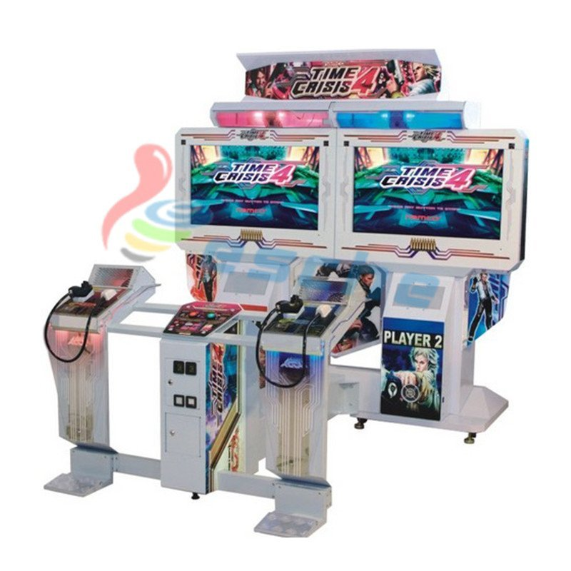 arcade machine Time Crisis 4 shooting game simulator