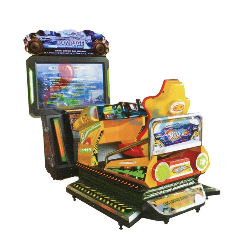 arcade game machine 55 inch LCD shooting simulator