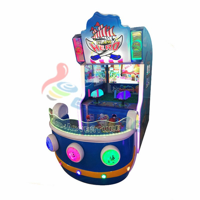arcade game Island Hero coin operated shooting simulator game machine