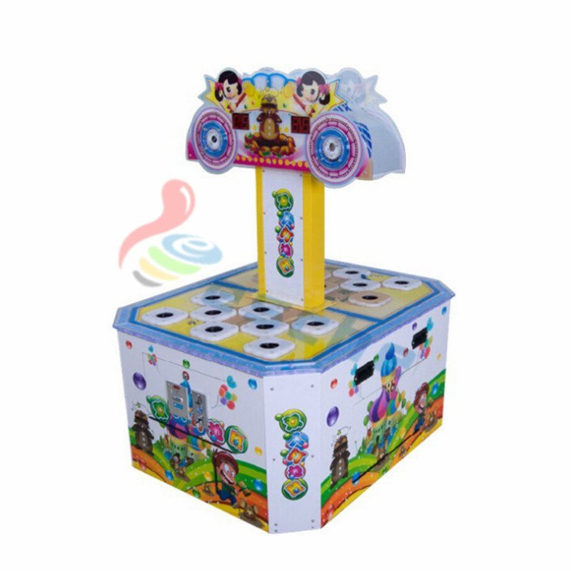 Children ticket redemption machine coin operated hitting hammer game machine