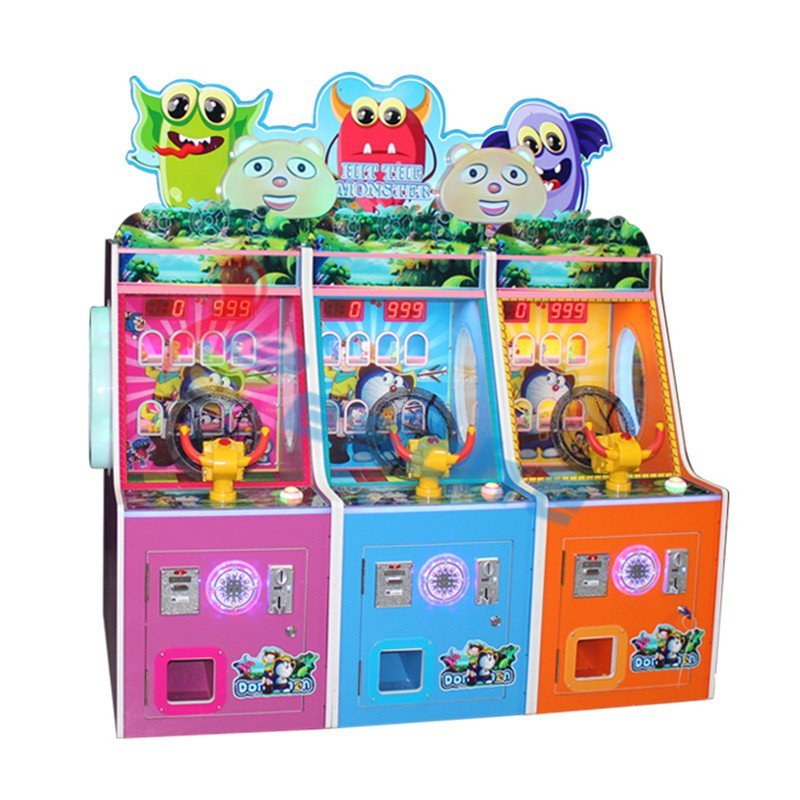 Leesche Hit The Monster Arcade coin operated shooting game machine