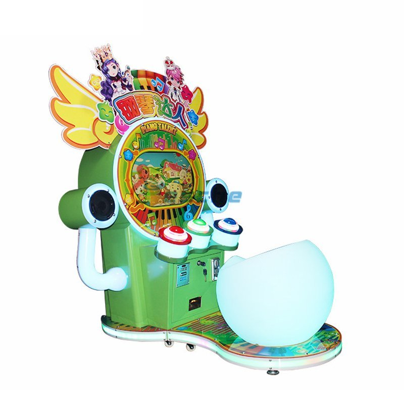 Piano talent coin operated video game music game machine