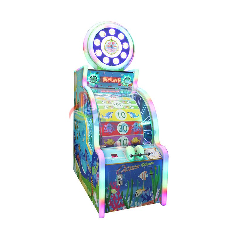 Ocean world arcade game machine lottery game machine
