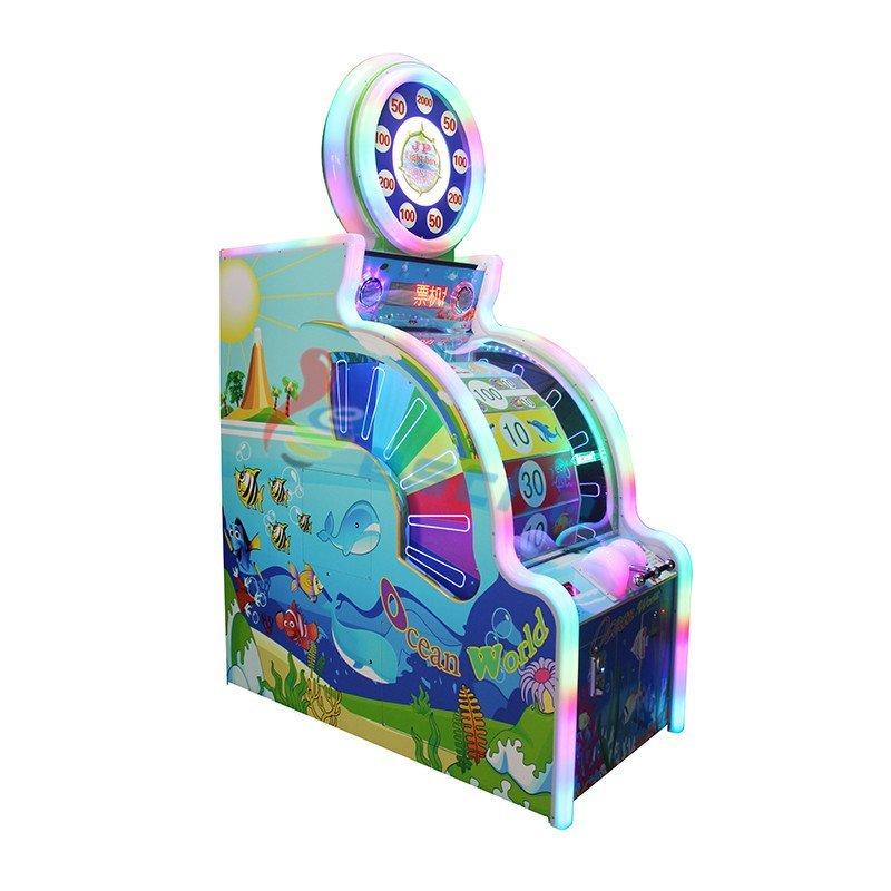 Ocean world arcade game machine lottery game machine