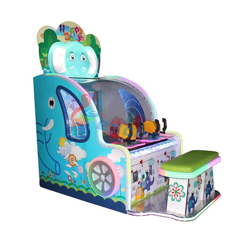 Leesche happy baby 42 inch LCD arcade ball shooting game machine Arcade Game Machine image7