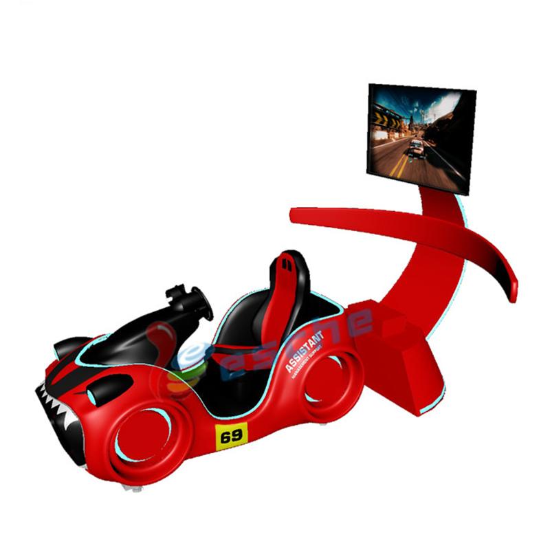9d vr electronic arcade car race game car driving simulator