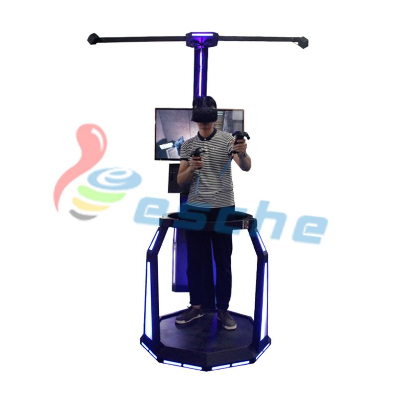 Leesche Walking platform HTC VIVE 9d vr shooting simulator