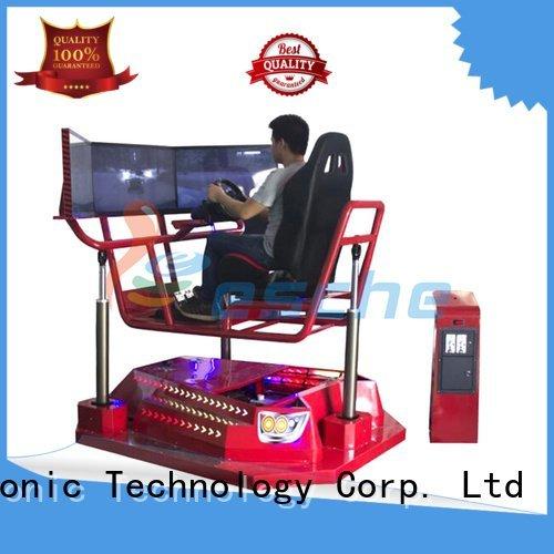 Leesche horse riding simulator for sale driving motorbike amusement seats