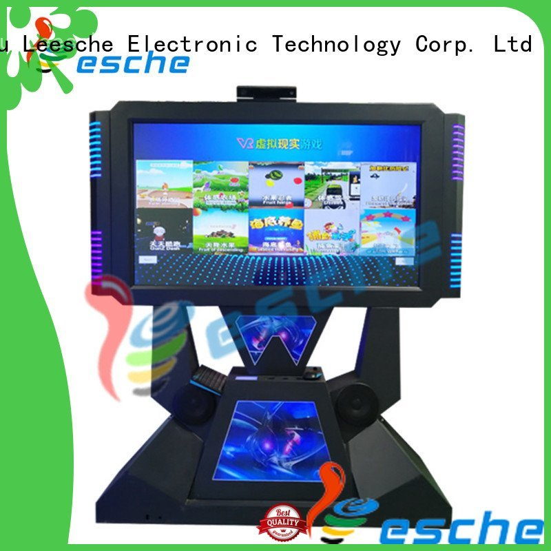 Leesche Brand 9d dance dance revolution arcade machine operated newest