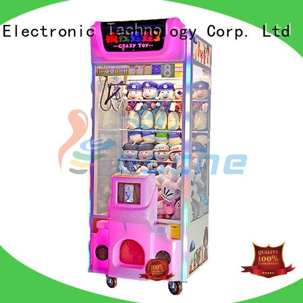 crane machines amusement Leesche claw arcade game