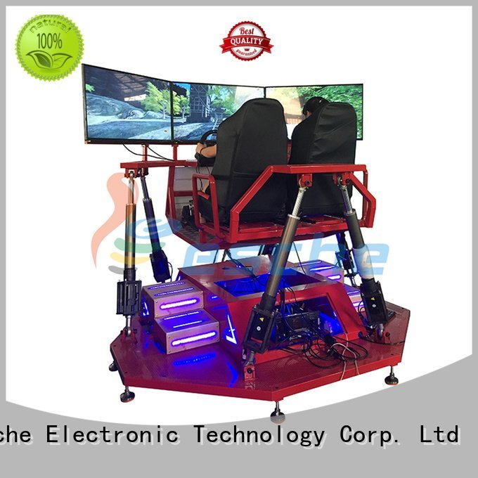 horse riding simulator for sale 360 shooting Leesche Brand