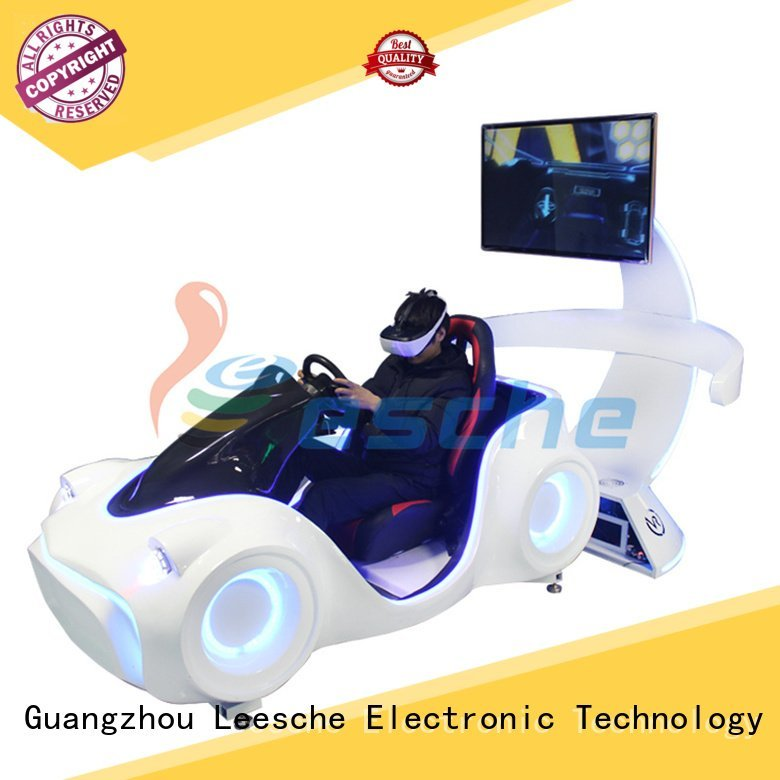 Leesche Brand driving vr game horse riding simulator for sale