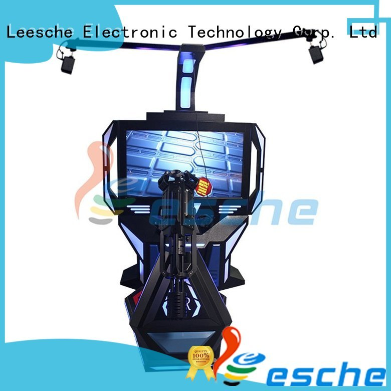 coinoperated Custom skiing vr shooting games 7d Leesche