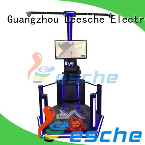 Leesche machine dynamic vr shooting games players 720